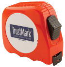 Lufkin Orange 25' Tape Measure With locking system and Removeable Belt clip custom imprint with your full color logo