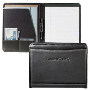 Millennium Leather Writing Pad with your logo embossed printed or stamped