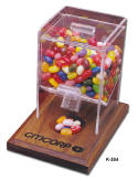 Bean Dispenser for Your Customers Desk with your Logo
